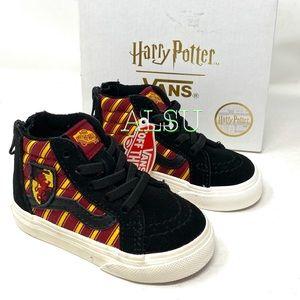 VANS Harry Potter SK8-HI ZIP Toddler Kid Sneakers